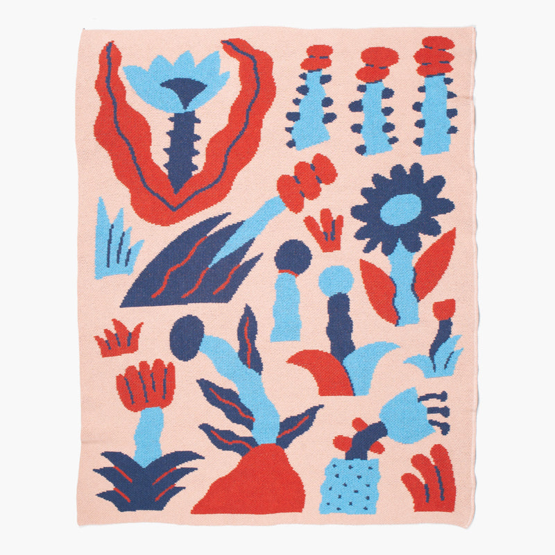 WONDERLAND MINI BLANKET (Art by Sidney Howard - New York, USA)