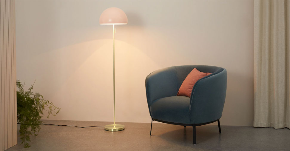 Collet Dome Floor Lamp