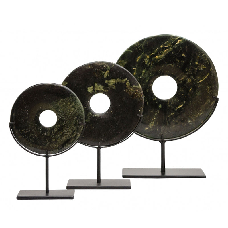 Yubi set of 3 Dark Green - OUTLET