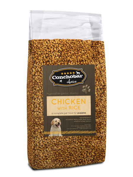 Choice Puppy Chicken & Rice 15kg - Conchobar