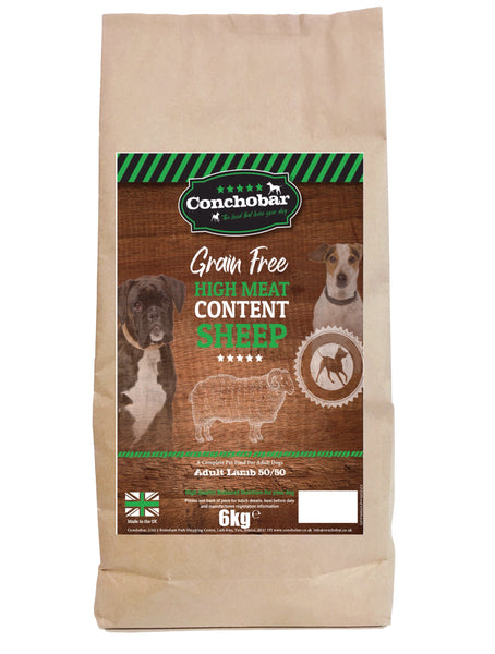 Conchobar Adult Lamb 50/50 6kg - Conchobar, Adult Dog - Hypoallergic grain free dog food