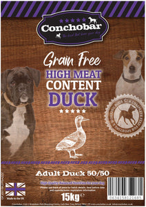 Conchobar Adult Duck 50/50 15kg - Conchobar, Adult Dog - Hypoallergic grain free dog food