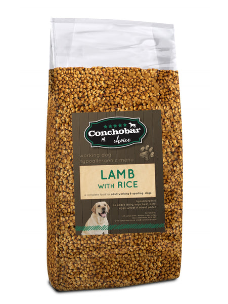 Choice Adult Lamb & Rice 15kg - Conchobar, Choice Adult - Hypoallergic grain free dog food