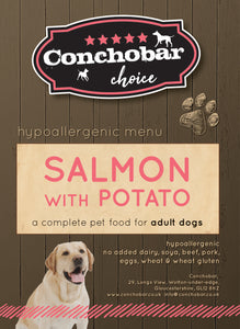Choice Adult Large Salmon & Potato 15kg - Conchobar, Choice Adult - Hypoallergic grain free dog food