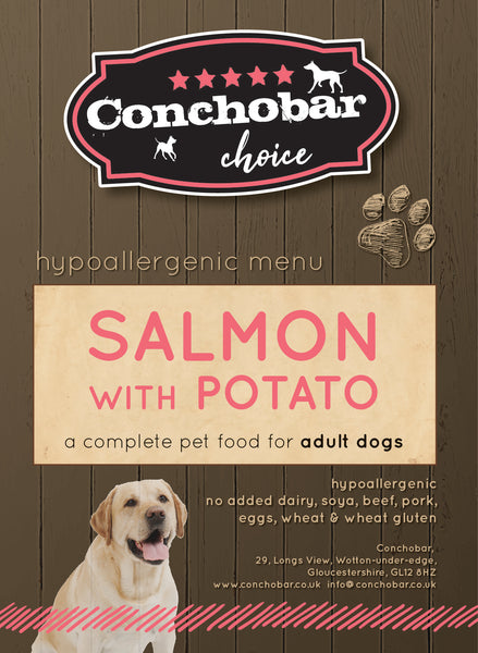 Choice Adult Large Salmon & Potato 30kg - Conchobar, Choice Adult - Hypoallergic grain free dog food