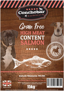 Conchobar Adult Salmon 50/50 15kg - Conchobar, Adult Dog - Hypoallergic grain free dog food