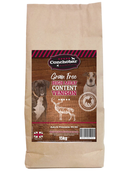 Conchobar Adult Venison 50/50 15kg - Conchobar, Adult Dog - Hypoallergic grain free dog food
