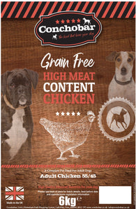 Conchobar Adult Chicken 55/45 6kg - Conchobar, Adult Dog - Hypoallergic grain free dog food