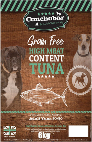 Conchobar Adult Tuna 50/50 6kg - Conchobar, Adult Dog - Hypoallergic grain free dog food