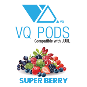 VQ Pods Compatible with JUUL - Super Berry