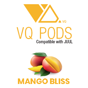 VQ Pods Compatible with JUUL Mango Bliss - VQ Compatible Pods