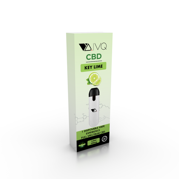 VQ CBD Disposable - Key Lime - VQ Compatible Pods