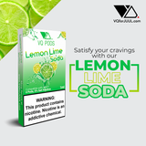 VQ Pods Compatible with JUUL - Lemon Lime Soda - VQ Compatible Pods