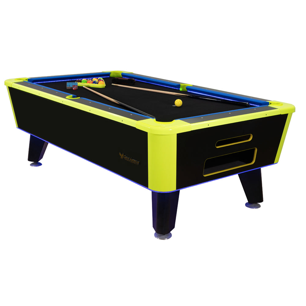 Great American - Neon  6.5'  Pool Table