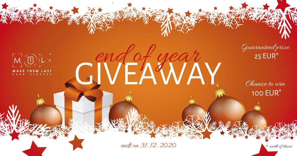 The End of Year Giveaway is HERE!! It's OVER!