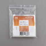 S80 80x80mm 100pcs Soft Sleeves for Board & Card Games in bag