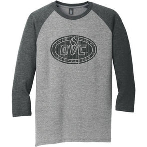 Ohio Valley Conference Men's Cotton Raglan Shirt