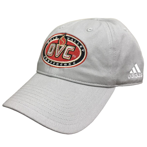 Ohio Valley Conference adidas® Adjustable Slouch Hat - Stone Grey