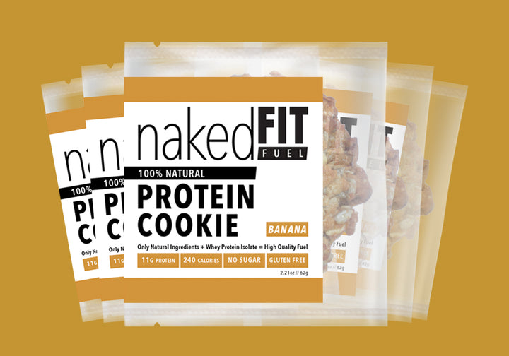 Banana Protein Cookie Pack