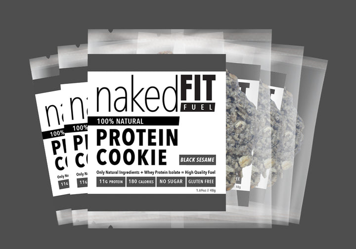 Black Sesame Protein Cookie Pack