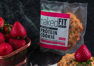 STRAWBERRY PROTEIN COOKIE