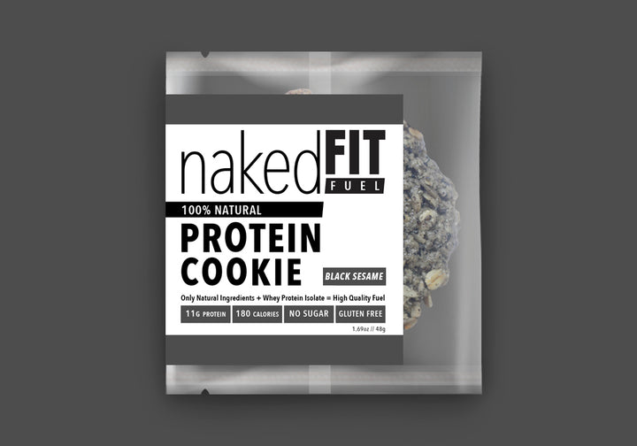 BLACK SESAME PROTEIN COOKIE