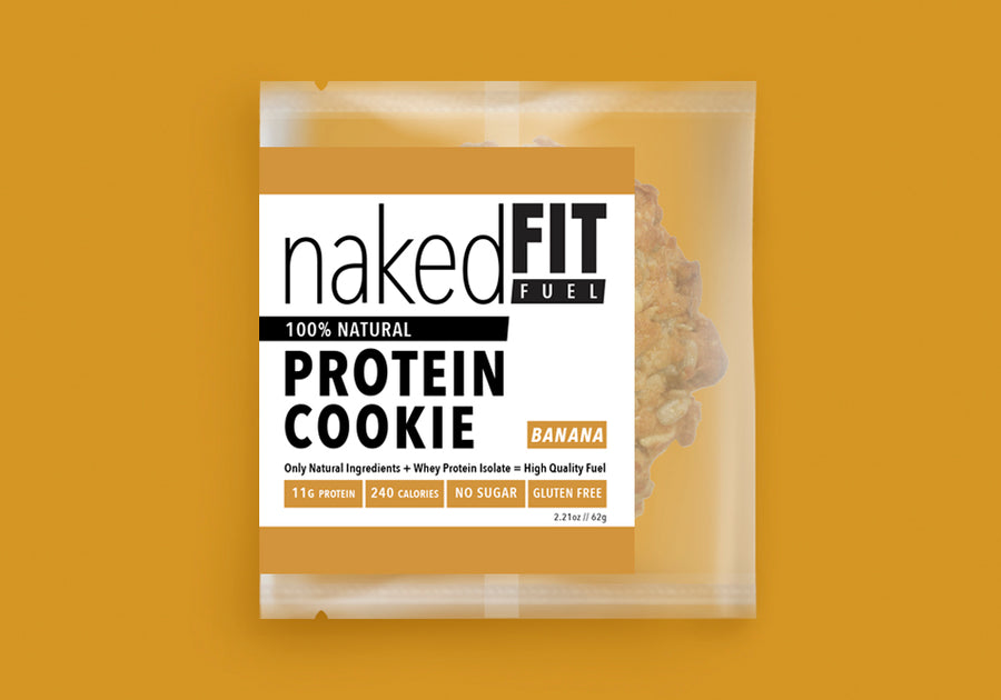 BANANA PROTEIN COOKIE
