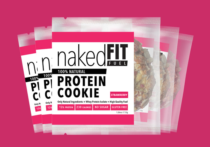 Strawberry Protein Cookie Pack