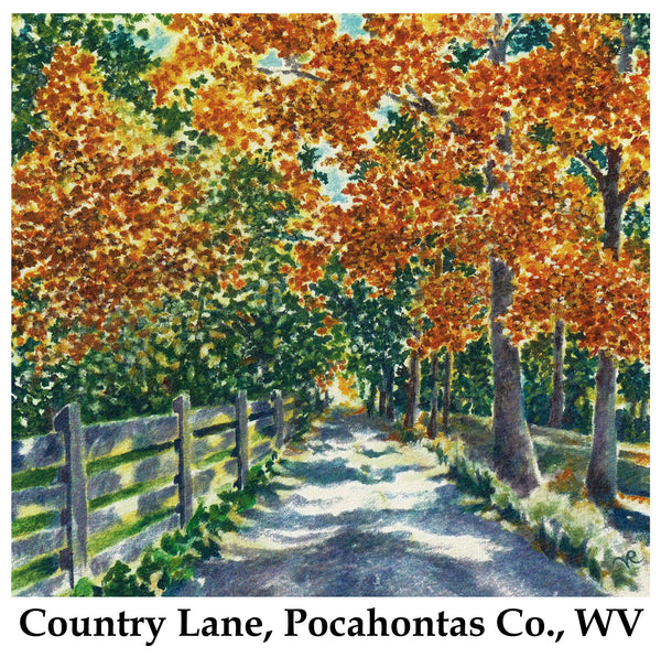 Country Lane, Pocahontas Co., WV