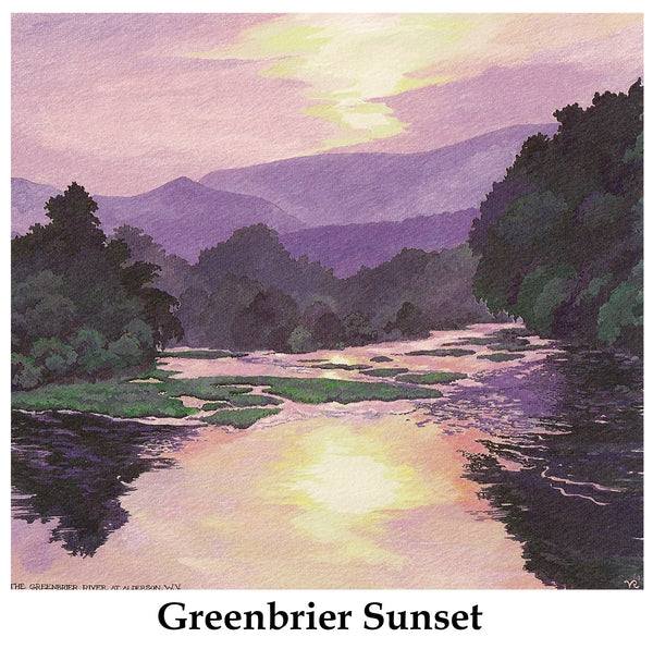 Greenbrier Sunset