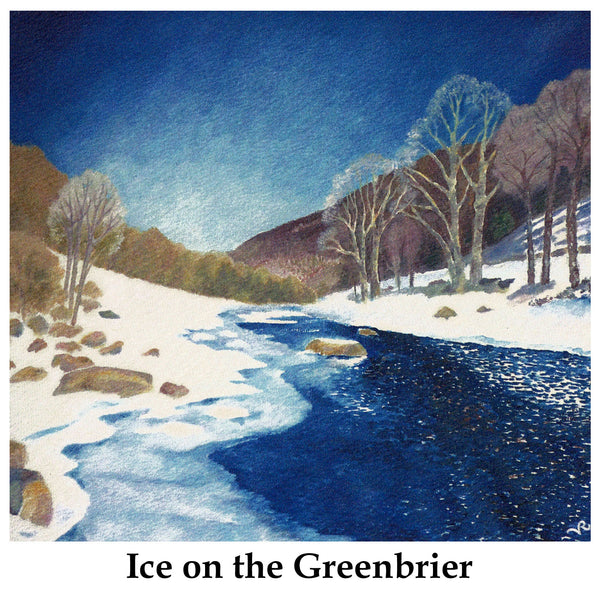 Ice on the Greenbrier