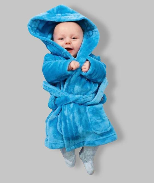 Blue Childrens Robe