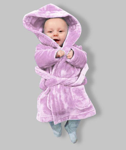 Matching Baby Pink personalised Children's robe