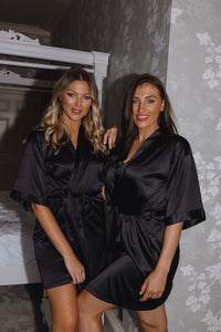Black personalised robes- Robes4you