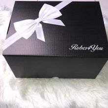 Load image into Gallery viewer, Luxurious Soft fluffy Robe Hamper & Short Cotton pyjamas ,prosecco & Candle   in a gift box