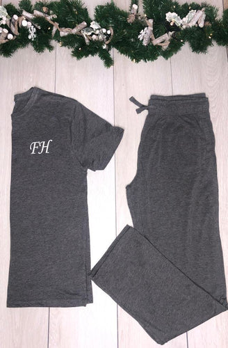 Christmas Pyjamas- Mens Long personalised pyjamas - Robes 4 You