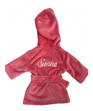 Load image into Gallery viewer, Cerise Pink Childrens personalised Robe- Discontinued colour