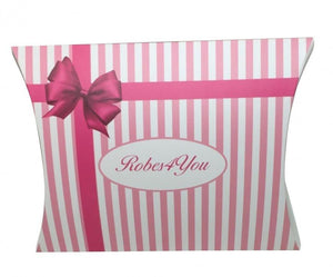 Personalised Bridal pyjamas - pink and white stripes - Robes 4 You
