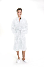 Load image into Gallery viewer, Luxurious Fluffy white Mens Robe - Robes 4 You