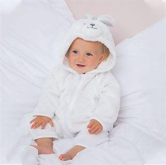 Cutie White supersoft all in one suit