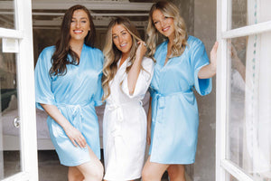 Blue bridesmaid robes -Robes4you