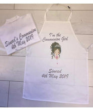 Load image into Gallery viewer, Communion Set- Personalised Apron and Satin Robe - Robes 4 You