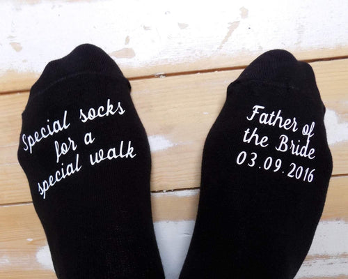 Father of the bride socks - Robes 4 You
