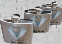 Load image into Gallery viewer, Hip Flask for Bridal Parties