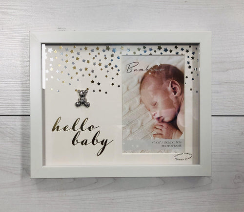 "Hello baby 4"" X 6"" frame - Robes 4 You"