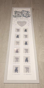 Baby room interior- my first years photo frame - Robes 4 You