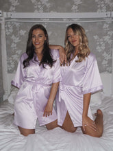 Load image into Gallery viewer, purple satin robes -Robes4you
