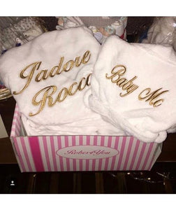 Personalised Mommy and Baby Robe - Robes 4 You