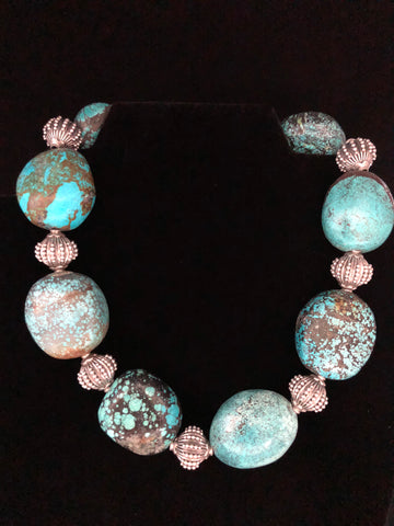 VERY LARGE TURQUOISE NUGGETS