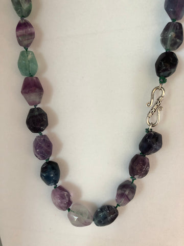 FLOURITE NUGGET NECKLACE